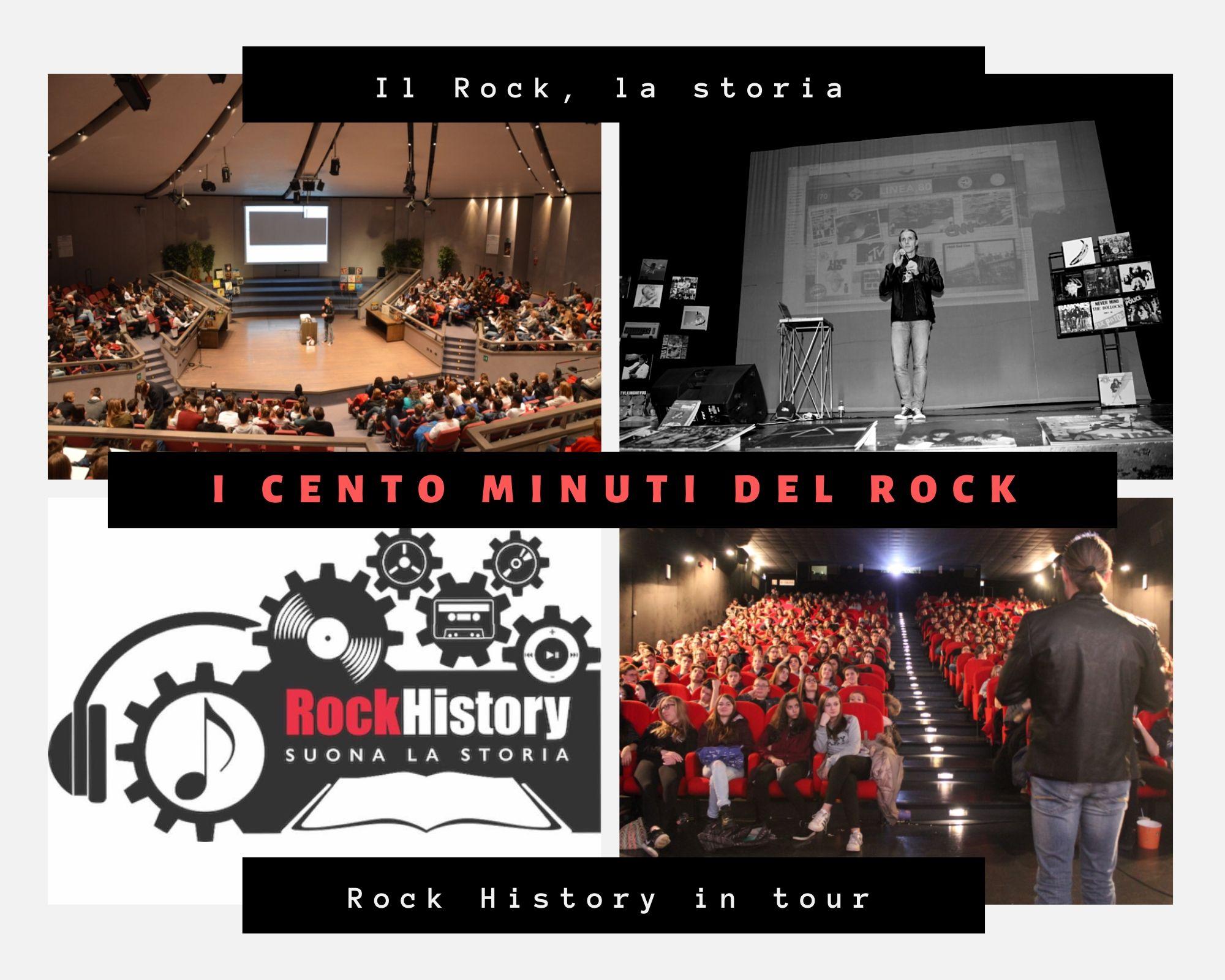 Il progetto Rock History è nato nel 2012  per parlare della storia degli ultimi 50 anni ai ragazzi delle scuole attraverso il Rock. Da quando è partito, Rock History non si è più fermato e oggi prende il via la campagna di crowdfunding per far arrivare il progetto in tutta Italia.