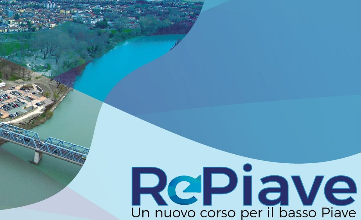 Copertina del Progetto RePiave, un'iniziativa per