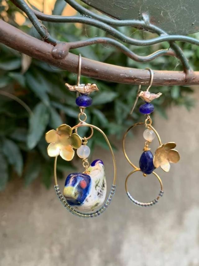 Oro creativo: orecchini
